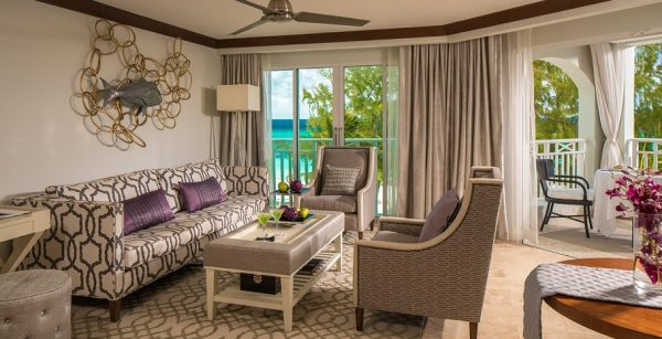 Beachfront Penthouse One Bedroom Butler Suite w Balcony Tranquility Soaking Tub