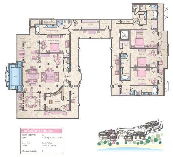 The Sandy Lane Suite